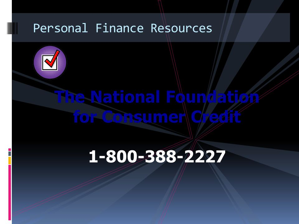 Personal Finance Resources