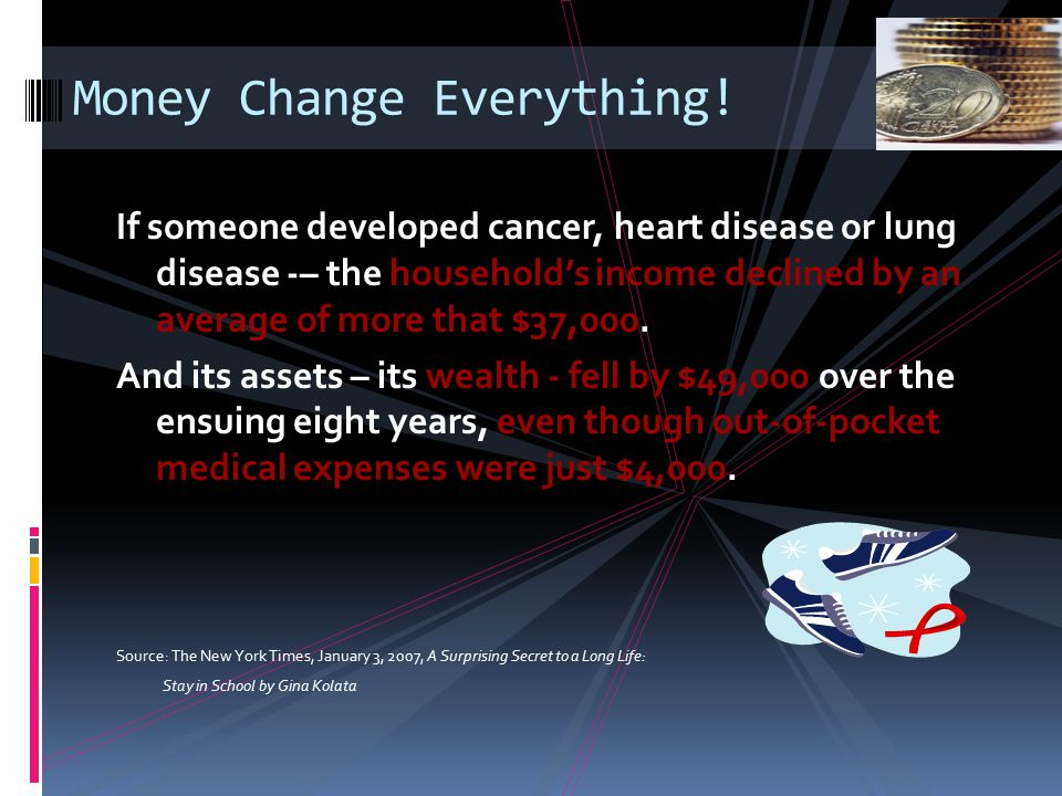 Money Change Everything!