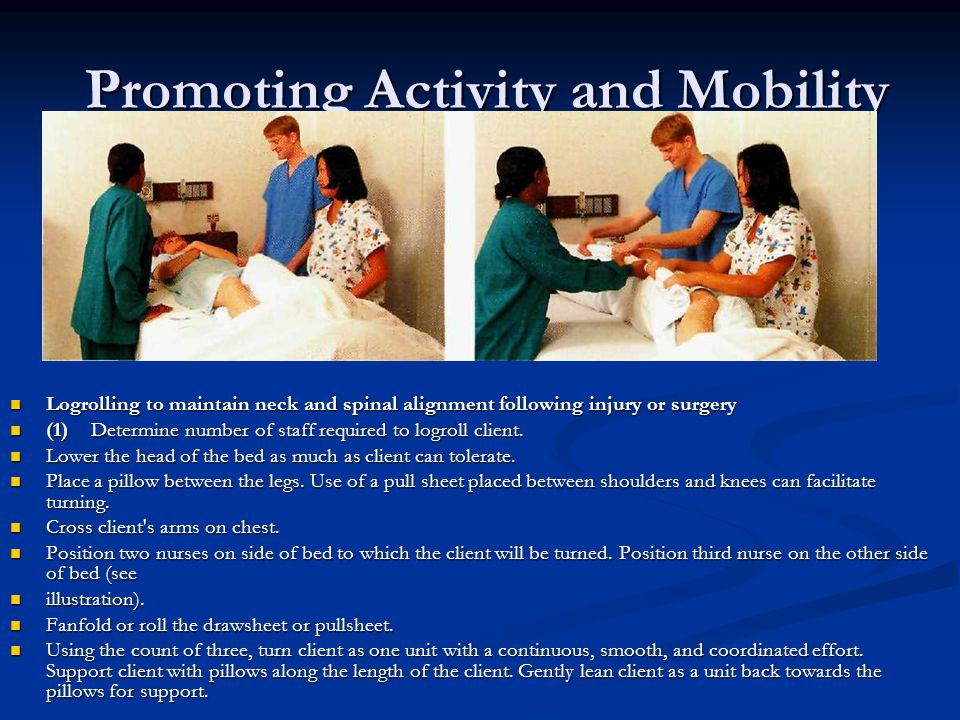 Promoting Activity and Mobility