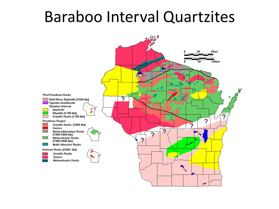 Baraboo Interval Quartzites