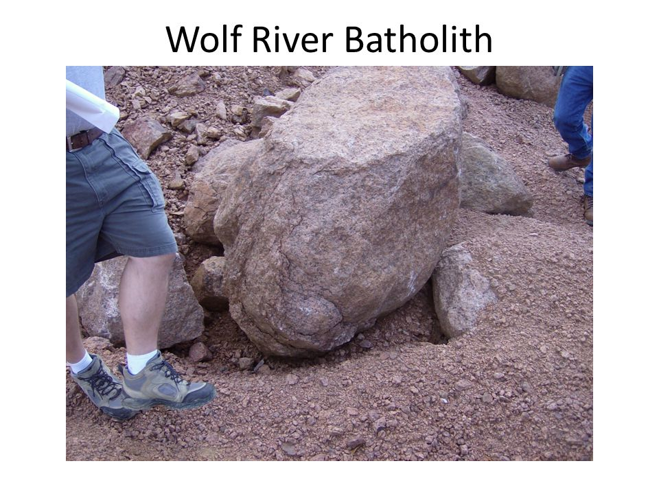 Wolf River Batholith