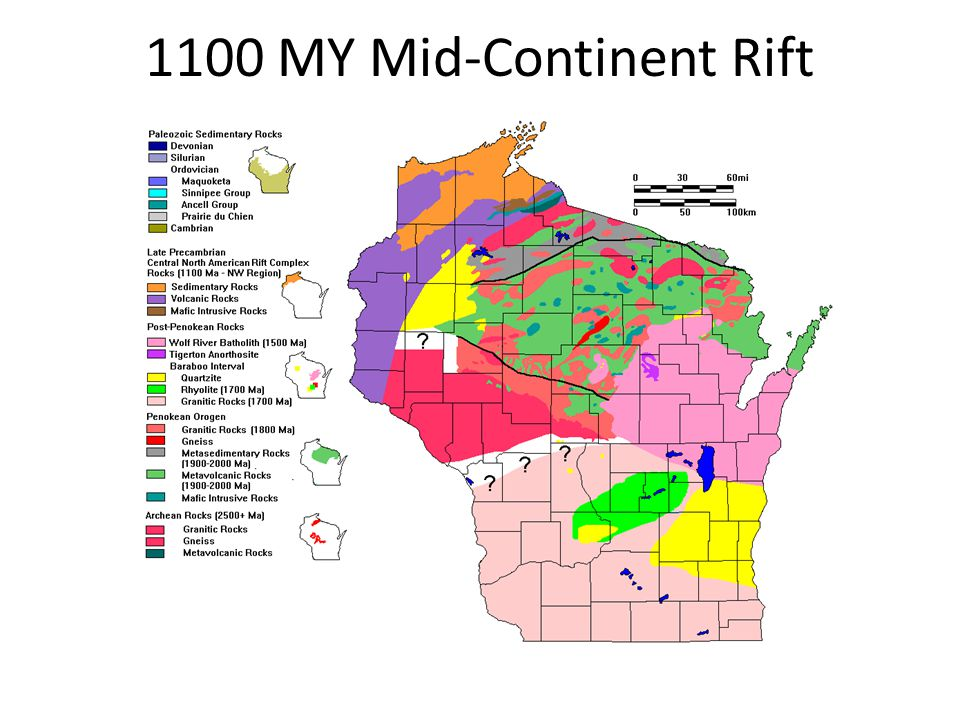 1100 MY Mid-Continent Rift