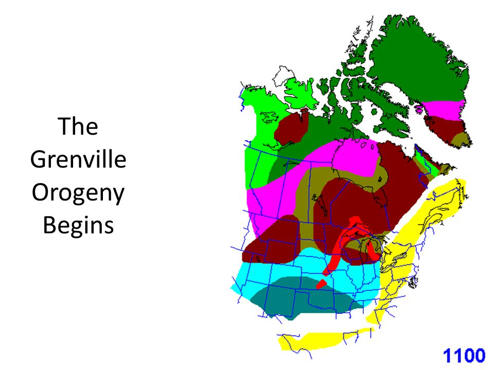 The Grenville Orogeny Begins