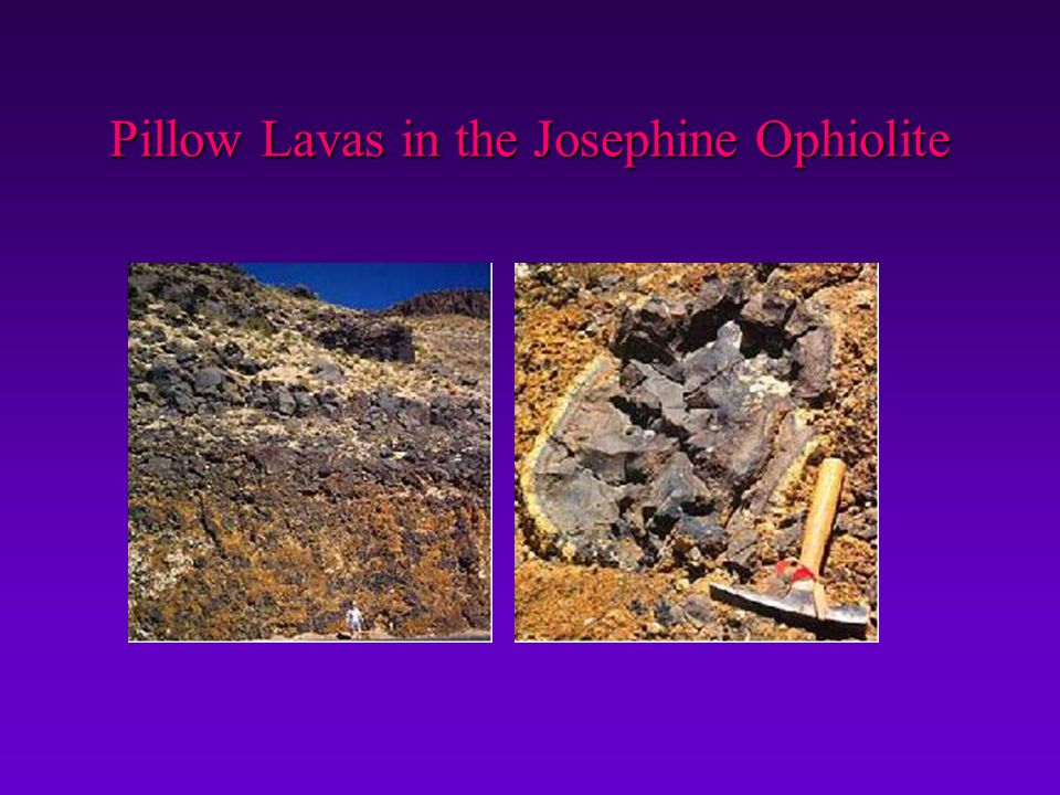 Pillow Lavas in the Josephine Ophiolite