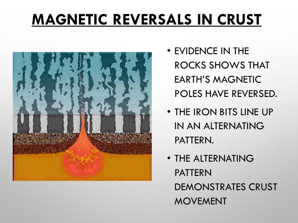 Magnetic Reversals in Crust