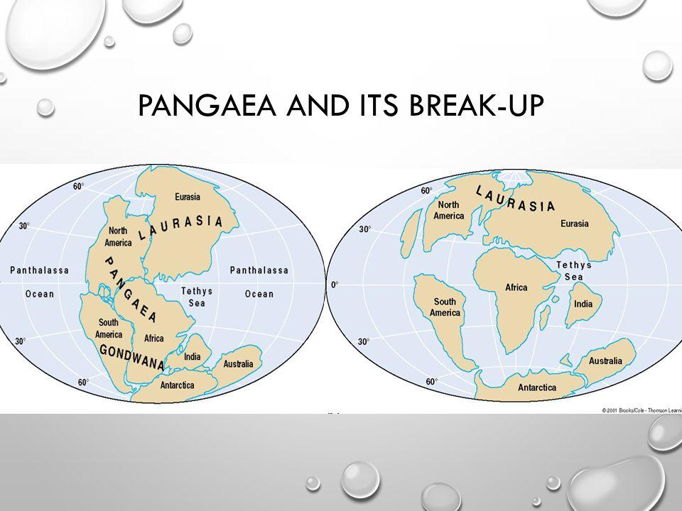Pangaea and its break-up