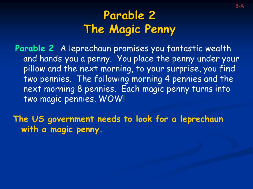 Parable 2 The Magic Penny