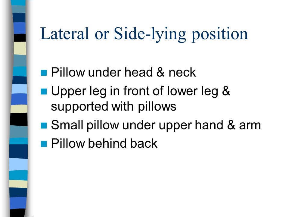 Lateral or Side-lying position
