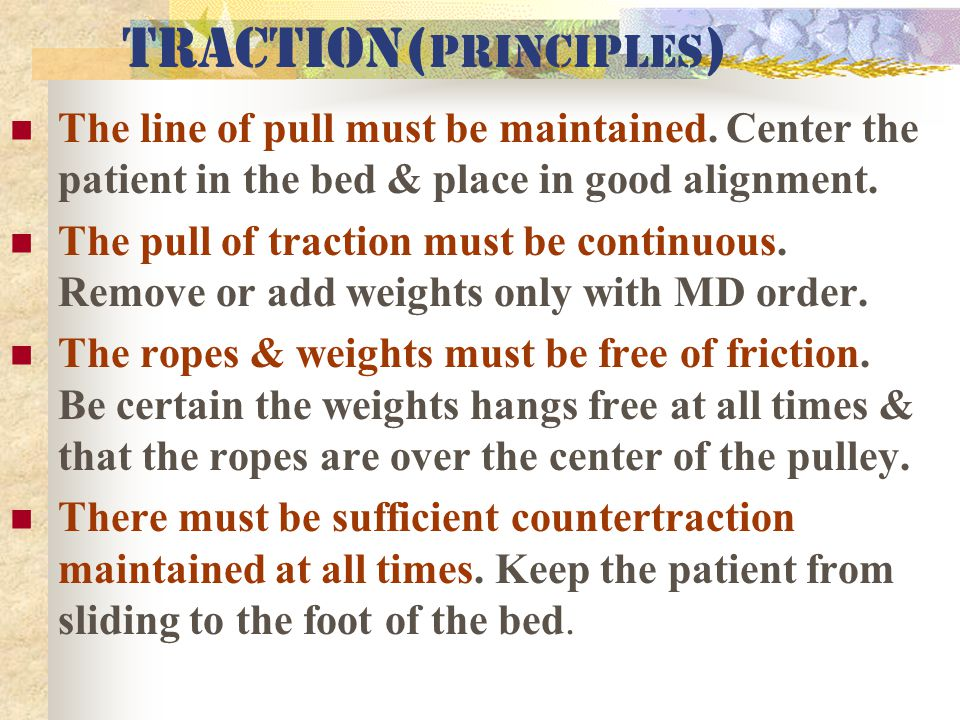 Traction(Principles)