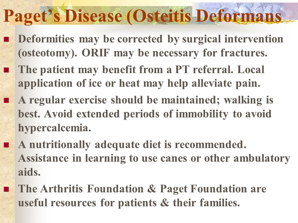 Paget's Disease (Osteitis Deformans