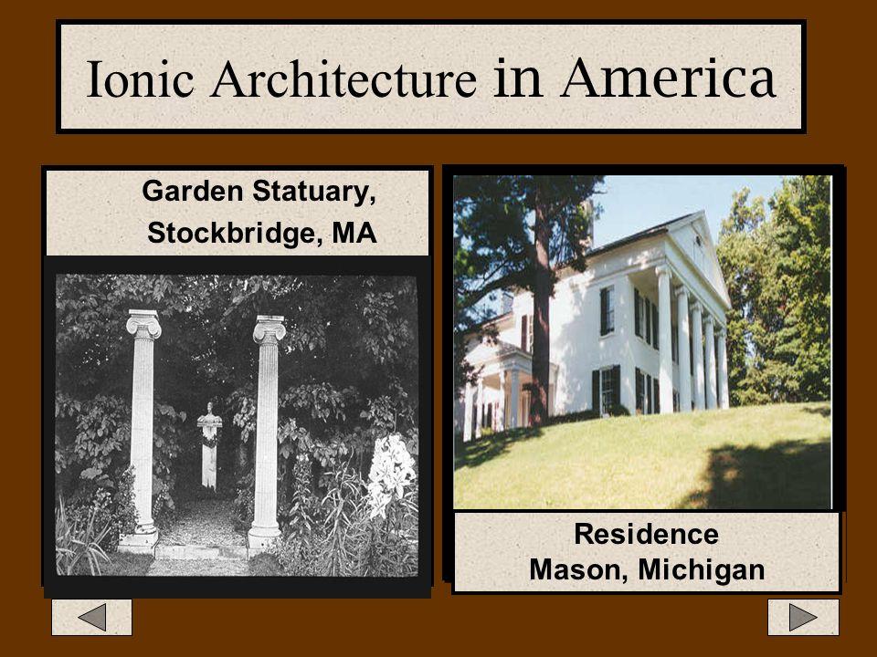 Ionic Architecture in America