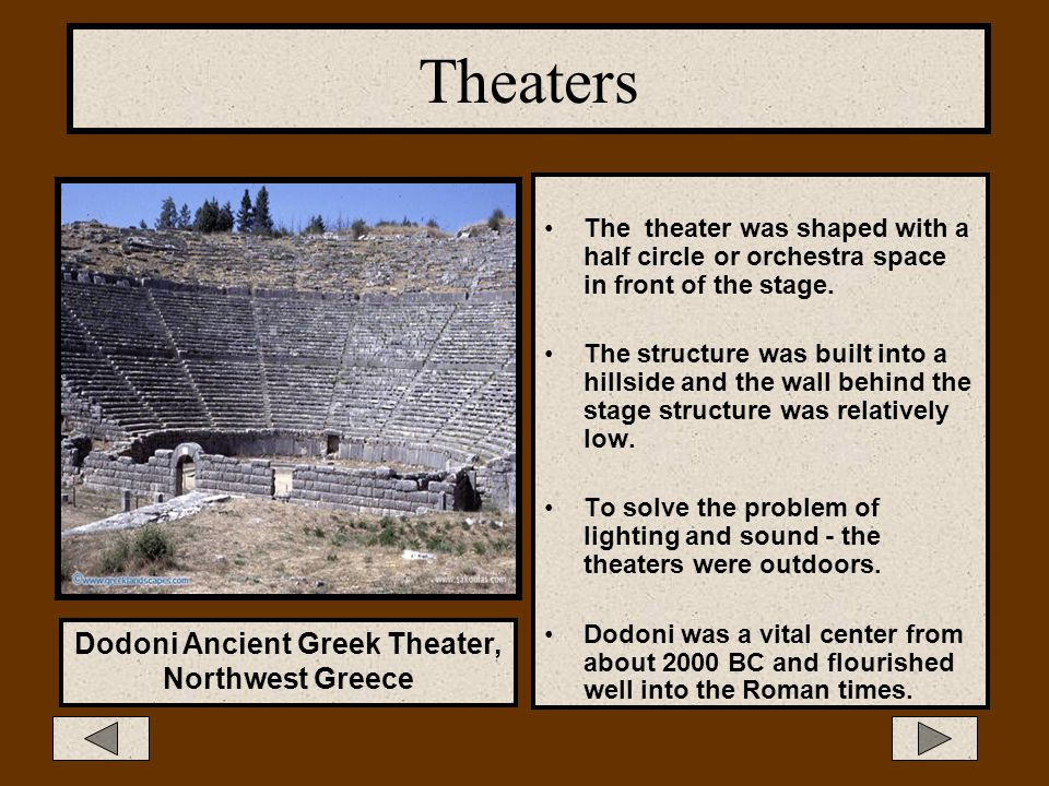 Dodoni Ancient Greek Theater,