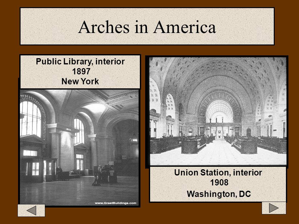 Public Library, interior Union Station, interior