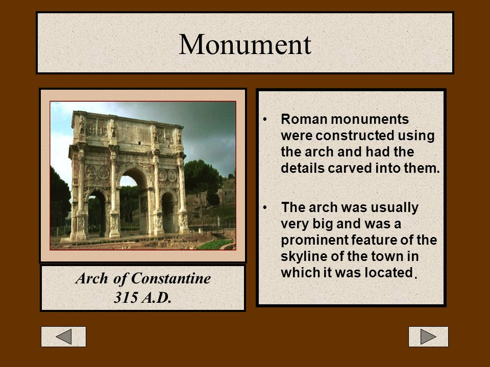 Monument Arch of Constantine 315 A.D.