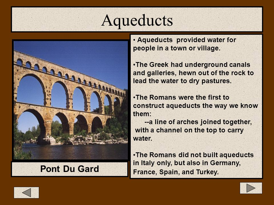 Aqueducts Pont Du Gard, photo Pont Du Gard