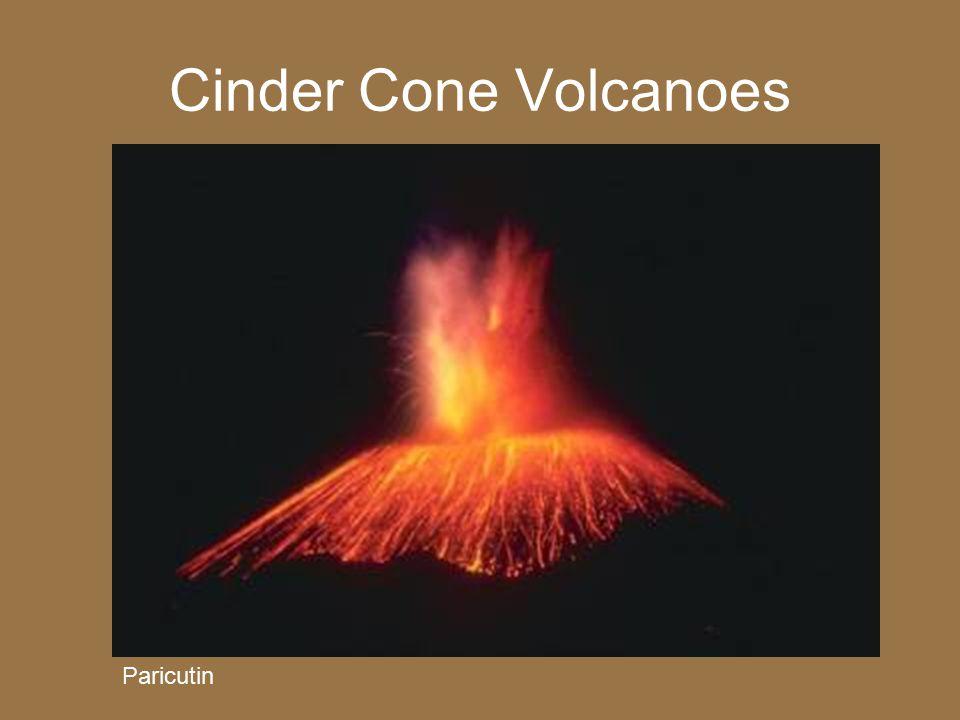Cinder Cone Volcanoes Paricutin