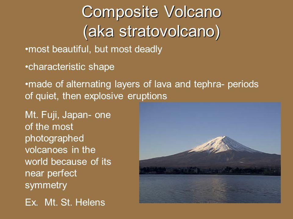 Composite Volcano (aka stratovolcano)