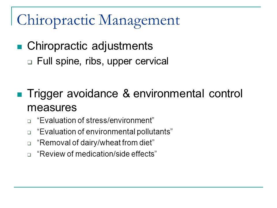 Chiropractic Management