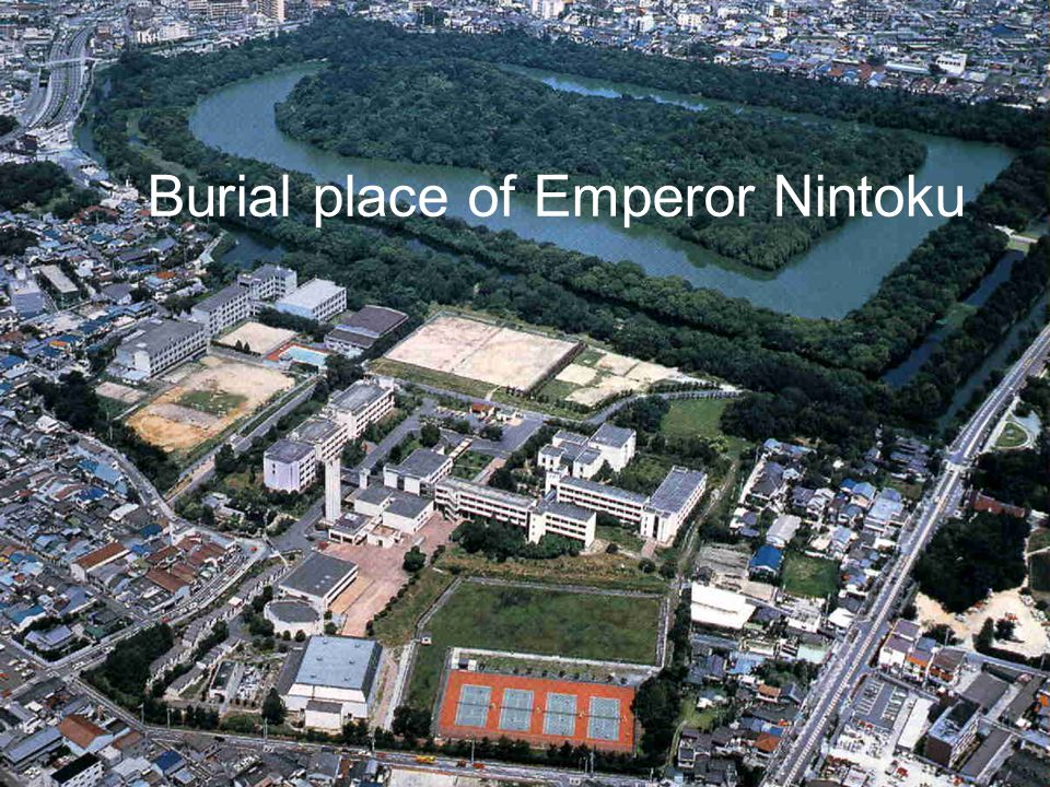 Burial place of Emperor Nintoku
