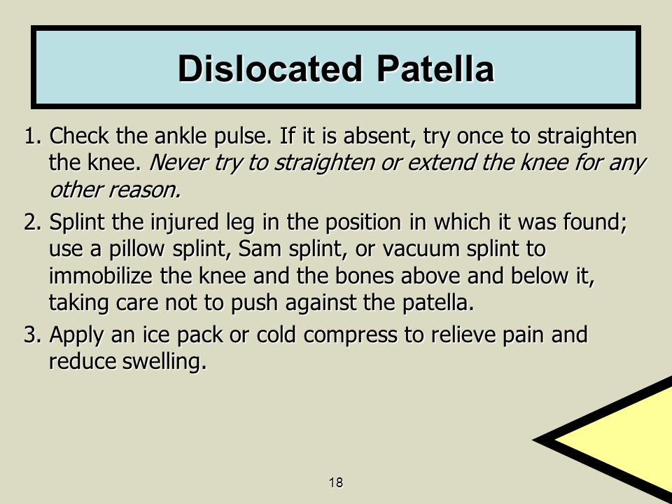 Dislocated Patella