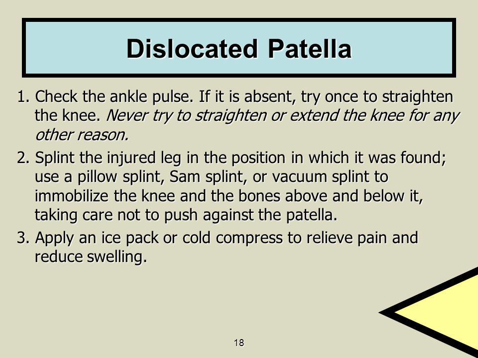 Dislocated Patella