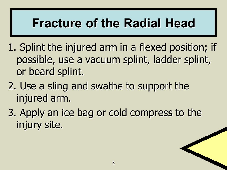 Fracture of the Radial Head
