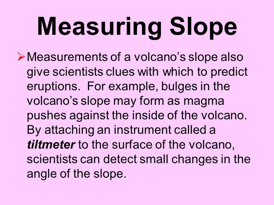 Measuring Slope