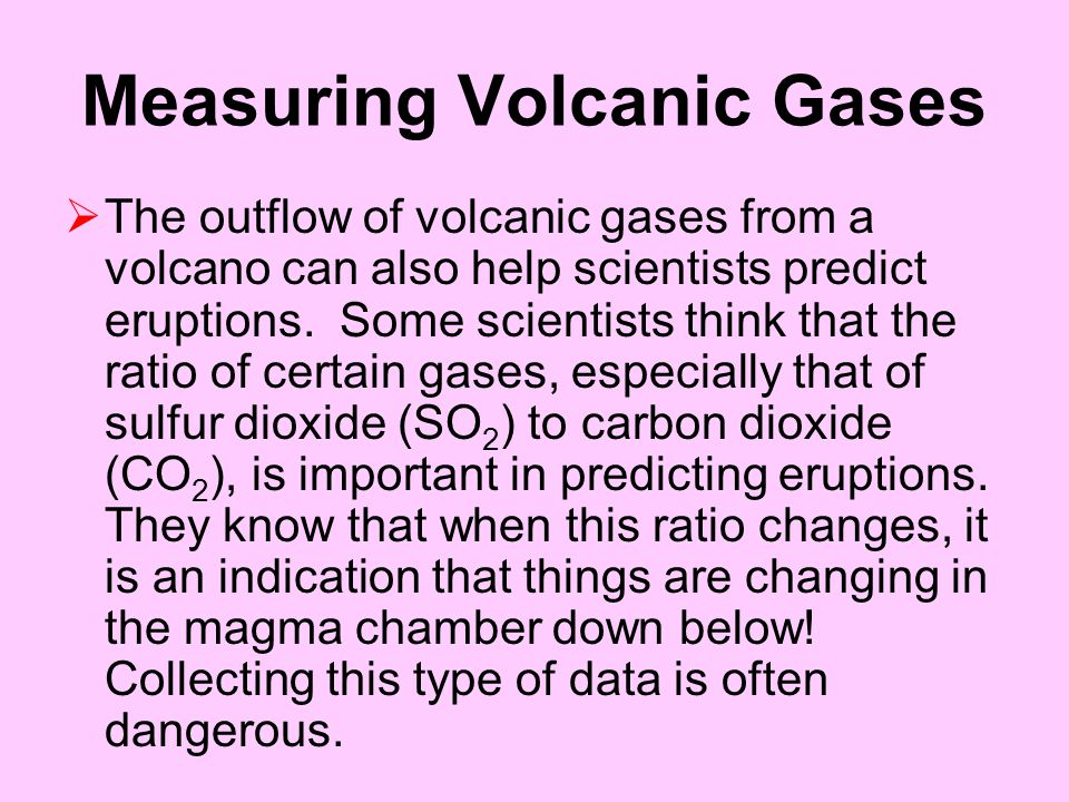 Measuring Volcanic Gases