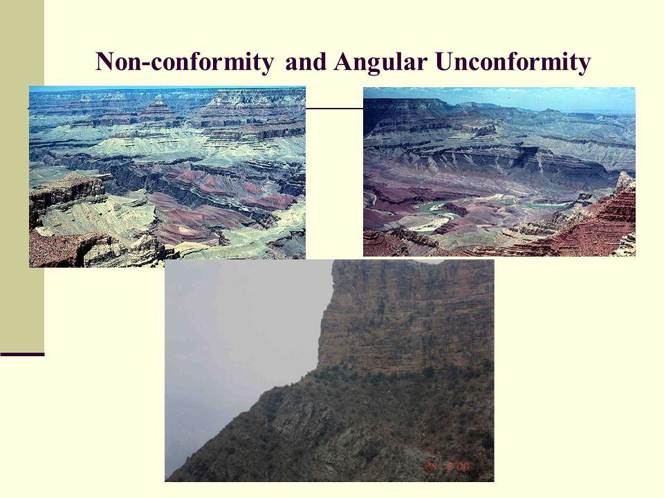 Non-conformity and Angular Unconformity