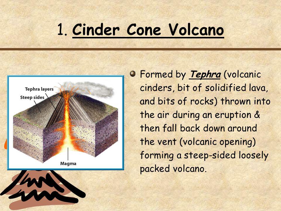 1. Cinder Cone Volcano