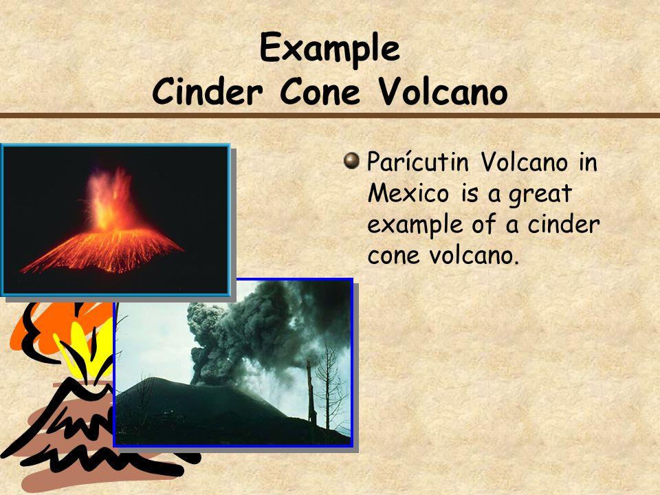 Example Cinder Cone Volcano
