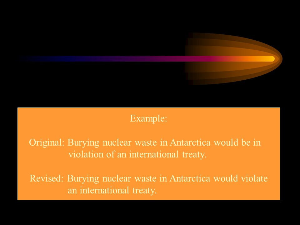 Original: Burying nuclear waste in Antarctica would be in