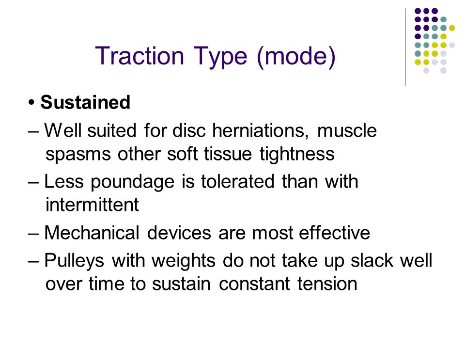 Traction Type (mode) • Sustained