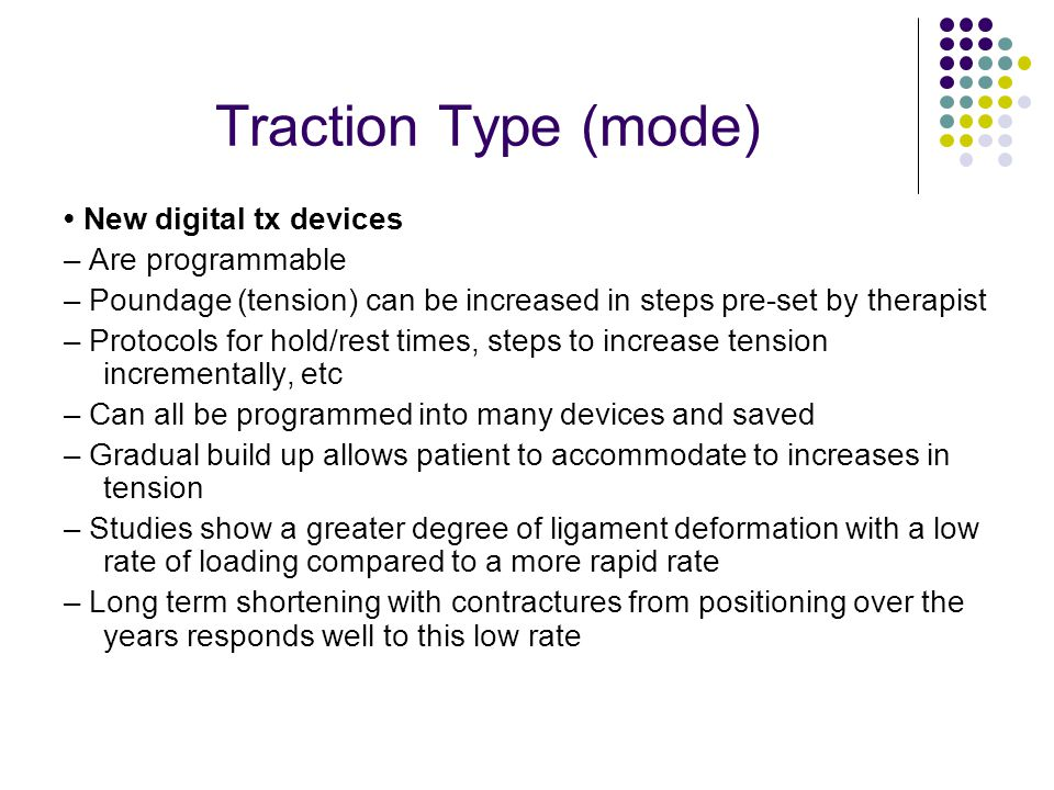 Traction Type (mode) • New digital tx devices – Are programmable