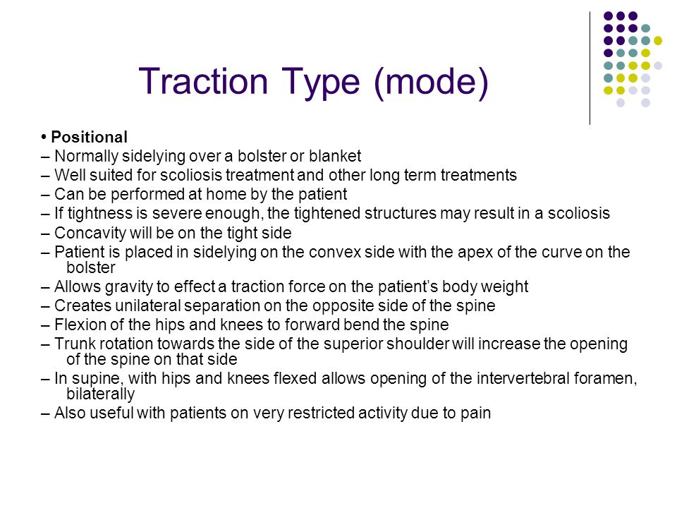 Traction Type (mode) • Positional