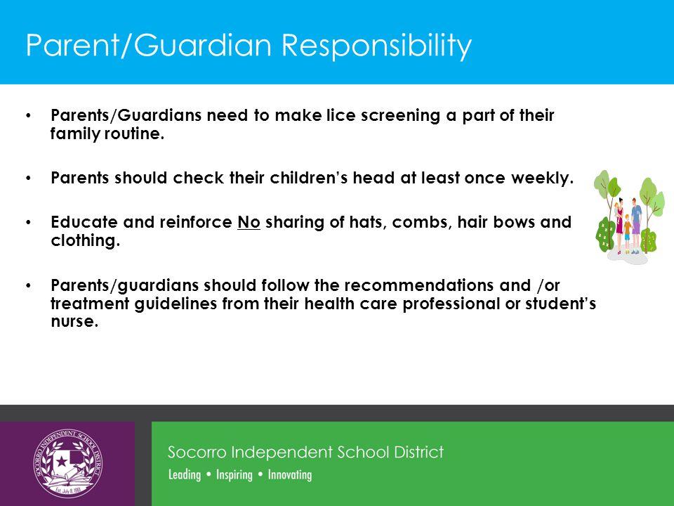 Parent/Guardian Responsibility