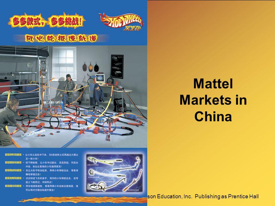 Mattel Markets in China
