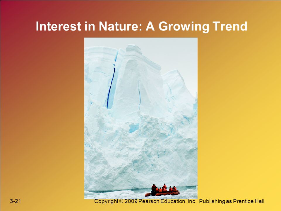 Interest in Nature: A Growing Trend