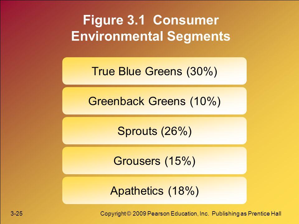 Figure 3.1 Consumer Environmental Segments