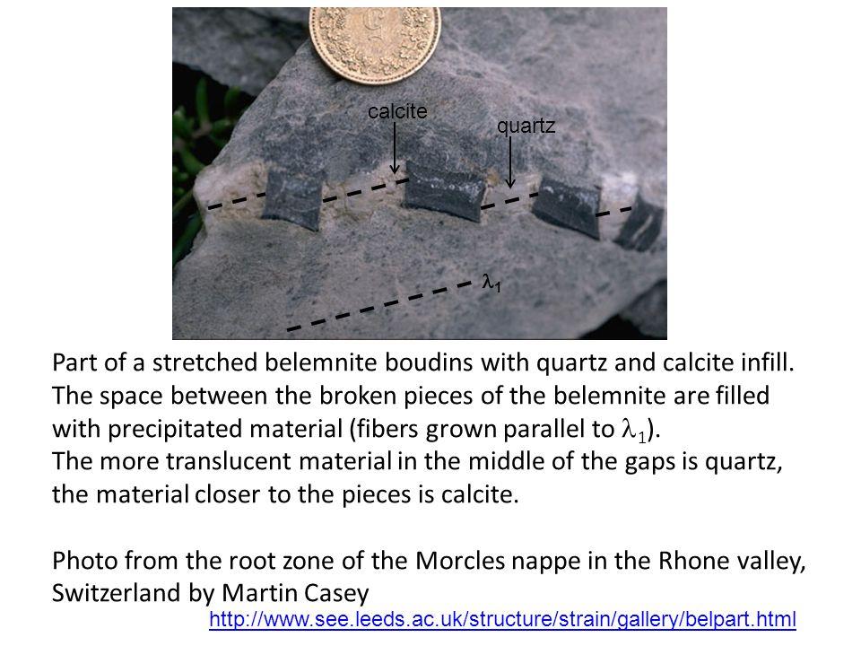 calcite quartz. 1.