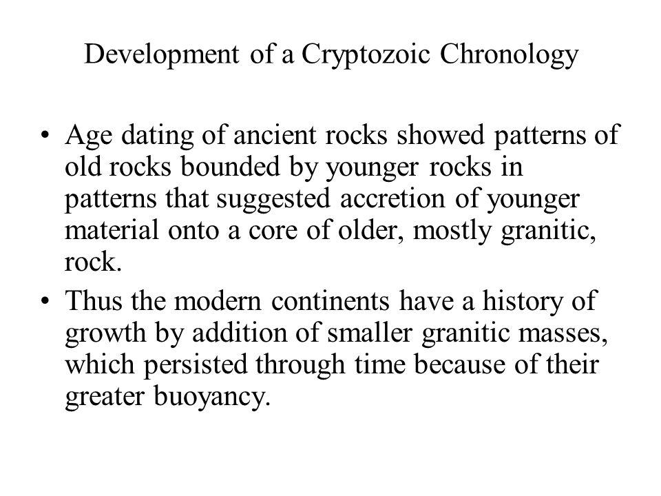 Development of a Cryptozoic Chronology