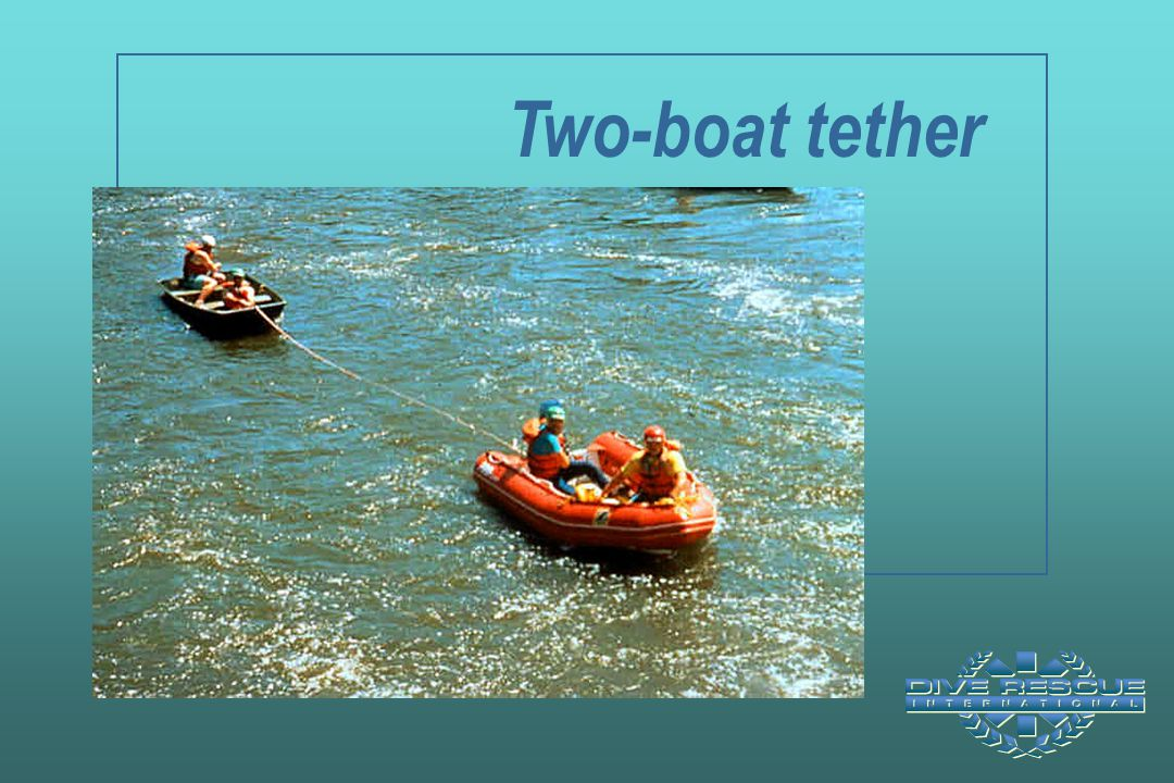 Two-boat tether