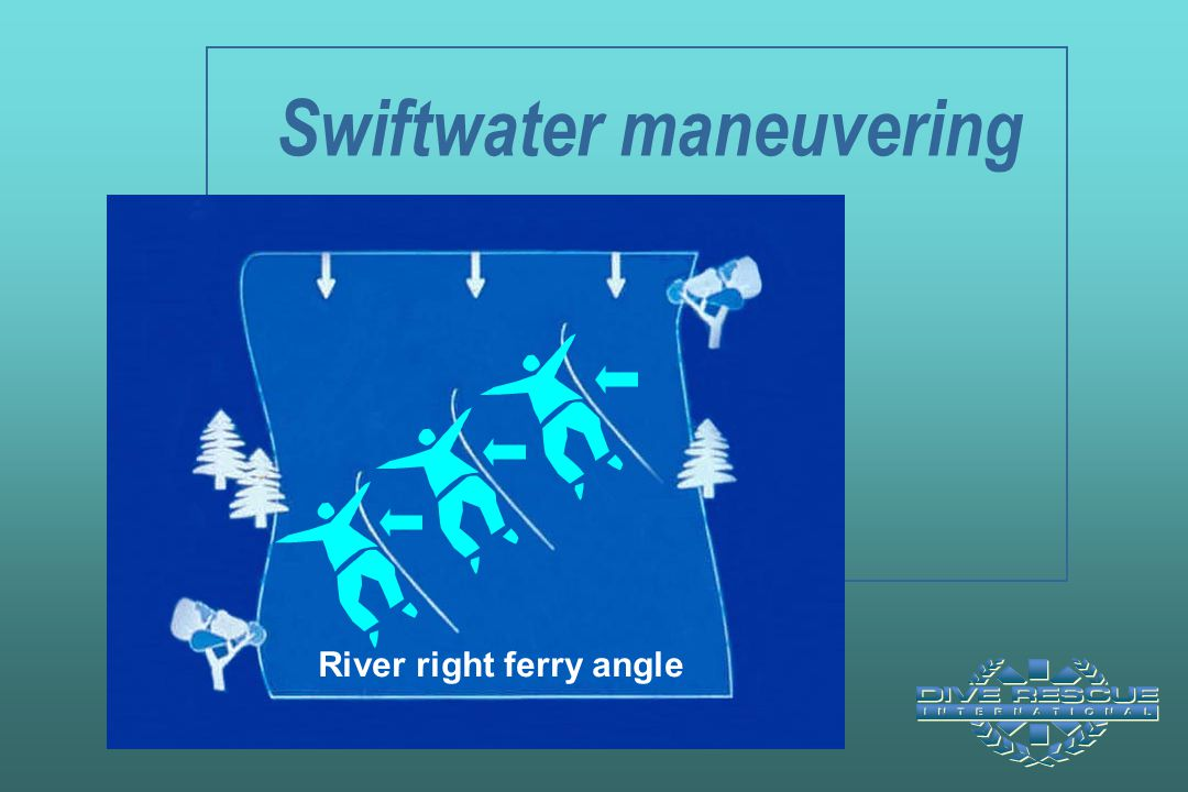 Swiftwater maneuvering