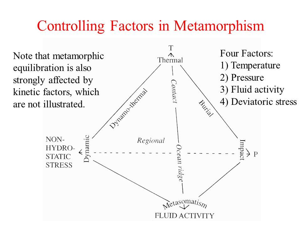 Controlling Factors in Metamorphism