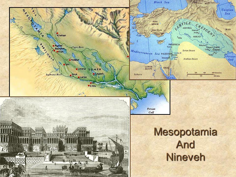 Mesopotamia And Nineveh