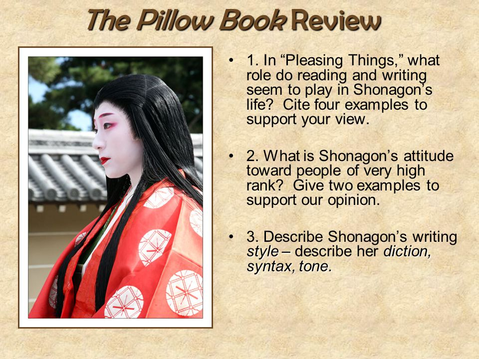 The Pillow Book Review
