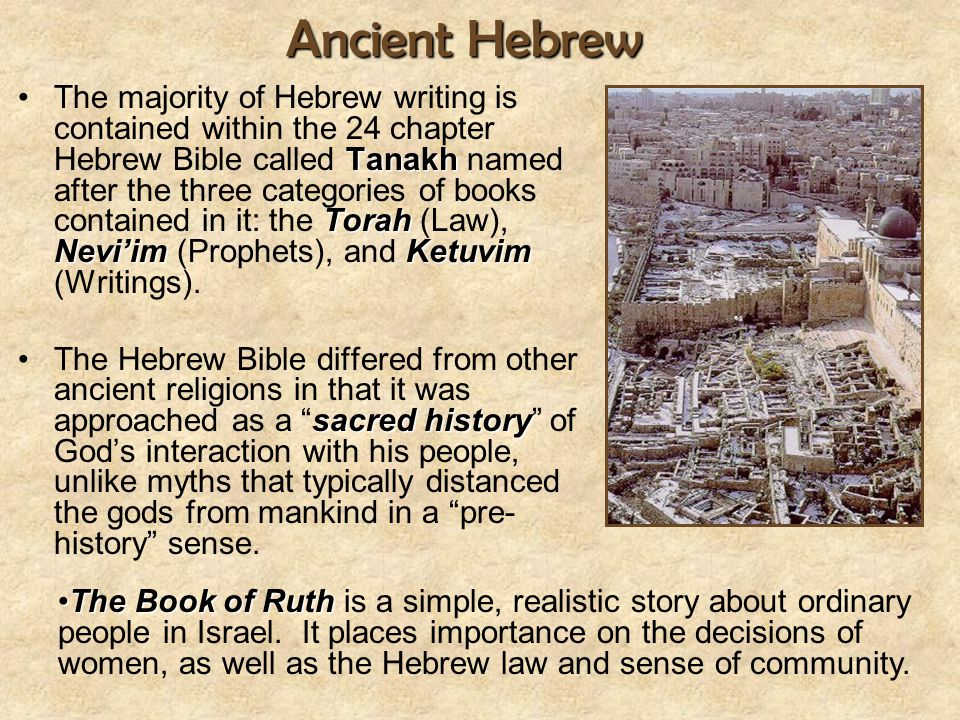 Ancient Hebrew