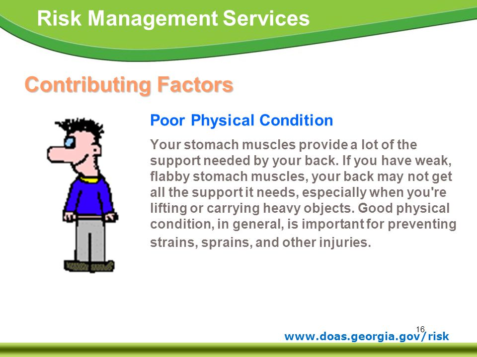 Contributing Factors Poor Physical Condition