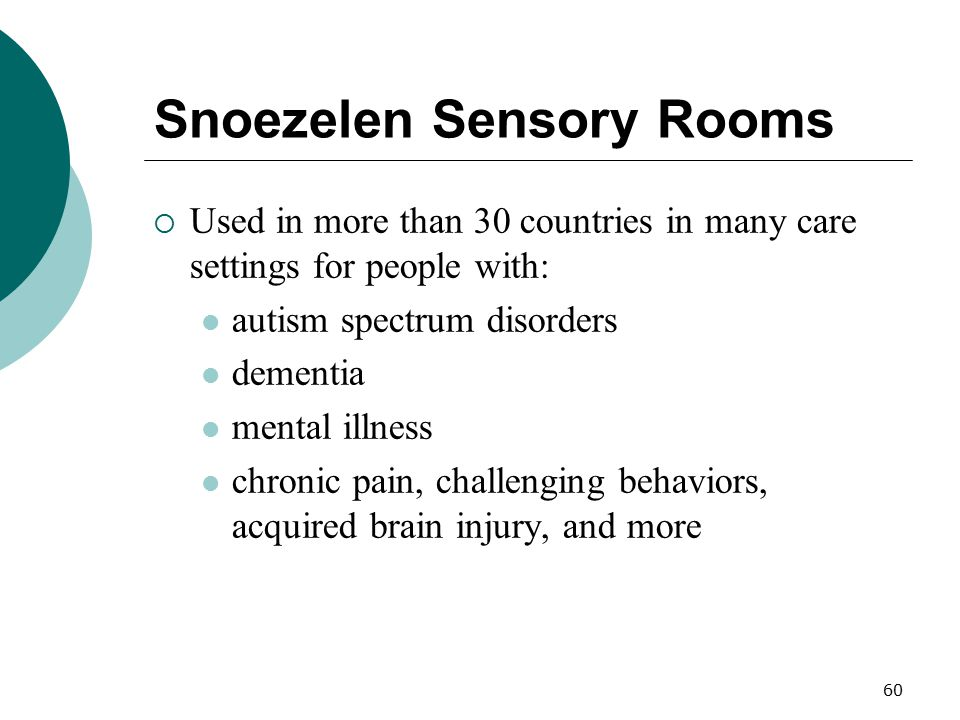Snoezelen Sensory Rooms