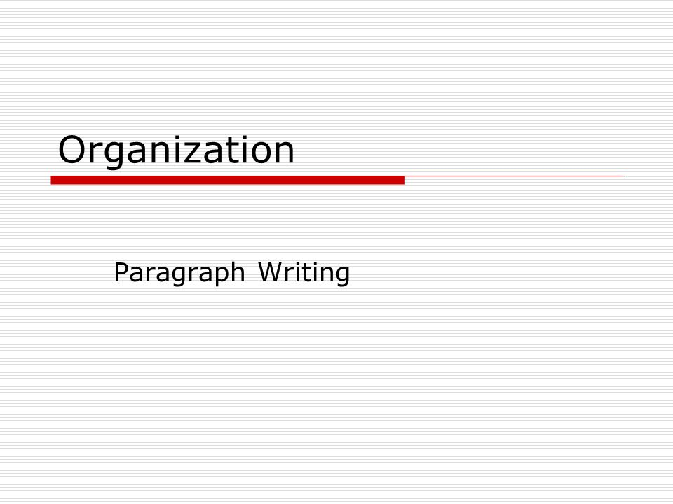 powerpoint presentation on paragraph writing The paragraph is a series of sentences developing one topic the topic sentence the topic of a paragraph is stated in one sentence this is called the topic sentence the rest of the paragraph consists of sentences that develop or explain the main idea through the centuries rats have managed to survive all our efforts to destroy them.